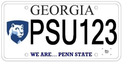 georgia-license-plate